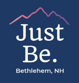 Just Be. Bethlehem, NH Logo