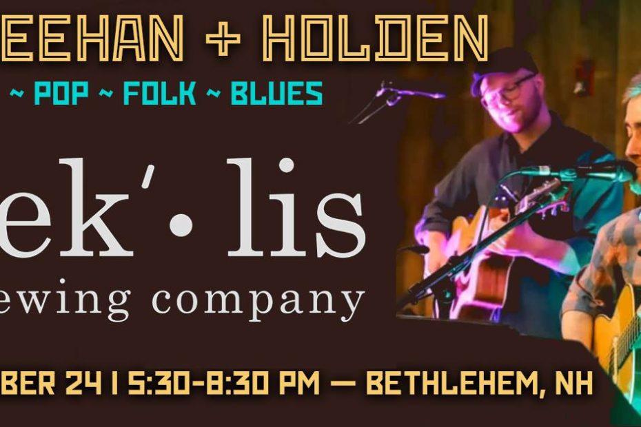 Sheehan & Holden at Reklis Brewing